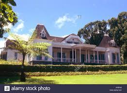 mauritius moka colonial house eureka stock photo royalty free