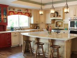 Red Kitchen White Cabinets Photos Principle Design And Construction Hgtv