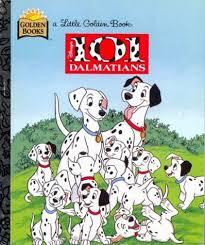101 dalmatians golden book justine korman hardcover