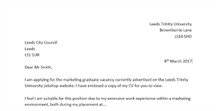 writing a graduate cover letter