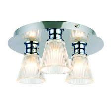 glass flush ceiling light ebay