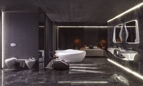 Mirrors Bathroom Scene by Zaha Hadid Designs A Bath Line For Porcelanosa Architectural Digest