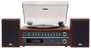 black friday record player teac bluetooth turntable brown mcd800ch best buy