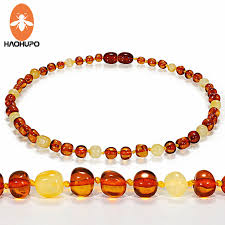 natural amber necklace images Haohupo natural amber necklace supply certificate authenticity jpg