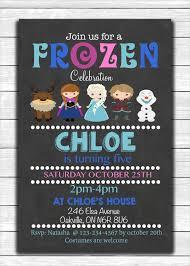 26 frozen birthday invitation templates u2013 free sample example