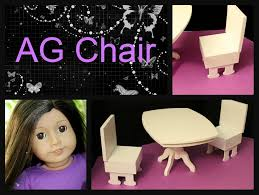 dining room chair for american dolls how to make for less