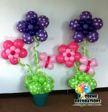 flowers and balloons flower balloon decorations party favors ideas coriver homes 90928