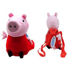 Peppa Pig Plush Nickelodeon 14 Peppa Pig Plush Backpack
