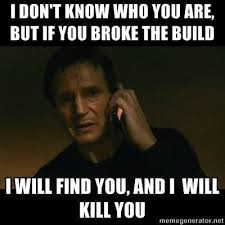 Build A Meme - i dont know who you are but if you broke the build i will find you