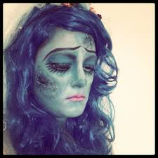 the corpse bride happy halloween makeup tutorial eng 11 youtube