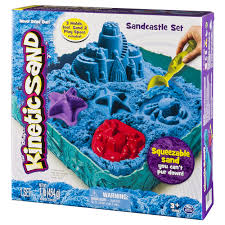 kinetic sand sandcastle set colors vary walmart com