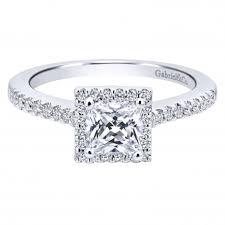 princess cut halo engagement ring princess cut halo engagement ring setting by gabriel co