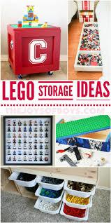 25 genius lego storage ideas anyone can make