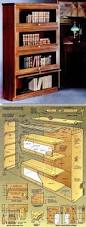 Pine Bookshelf Woodworking Plans by Best 25 Barrister Bookcase Ideas On Pinterest Vintage Bookcase