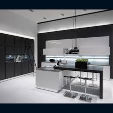 cuisine noir et blanc laqué cuisine noir et blanc laque newsindo co