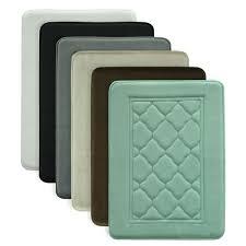 Memory Foam Bathroom Rugs Microban Antimicrobial Memory Foam Bath Rug Free Shipping On