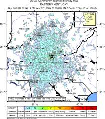 Eastern Tennessee Map by The Mw 4 2 Perry County Kentucky Earthquake Of 10 November 2012