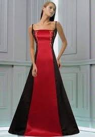 red black and white wedding dresses red and black bridesmaid