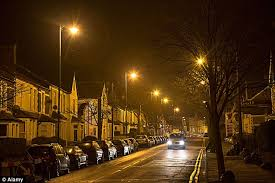 who to call when street lights are out 75 per cent of councils dimming lights to save cash daily mail online