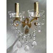 Sconces With Shades Crystal Wall Sconces Chandeliers Romantic Crystal Wall Sconces