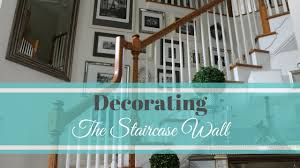 Staircase Wall Design by Decorating The Staircase Wall Youtube