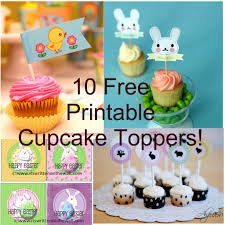 free printable halloween cupcake toppers 10 free easter cupcake topper printables printables 4 mom