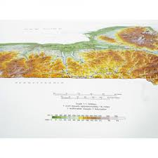 New York State Map Hubbard New York State Raised Relief Map For 50 95 At Mcmaps Com