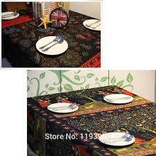 beautiful table cloth design indian style beautiful lady elephant linen cotton table cloth