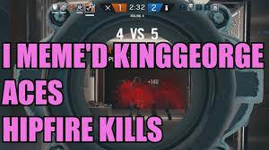 i did the worm on kinggeorge lol r6siege 18 youtube