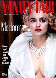 Magazine Vanity Fair Madonna Vanity Fair Magazine 1990 Cover Photo Italy