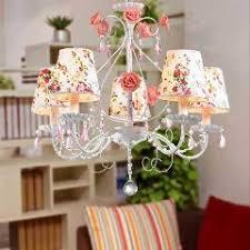 Kids Chandeliers Wrought Iron Chandelier Lights Flower Chandeliers Modern Korean