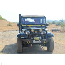 thar price mahindra thar 540 550 front bumper with winch plate