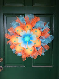 122 best flower shaped wreaths images on summer wreath