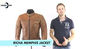 motorcycle riding coats richa memphis leather bike jacket review by urban rider youtube