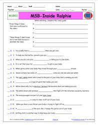 student worksheets for bill nye the science guy starmaterials