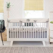 White Crib Set Bedding Black And White Crib Bedding Woodland Baby Bedding Black Crib