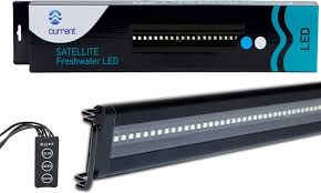 current usa orbit marine aquarium led light current usa satellite freshwater aquarium led light 24 36 in