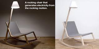 designer schaukelstuhl murakami chair schaukelstuhl macht strom