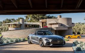new 2018 mercedes amg gt c roadster german brute or exotic