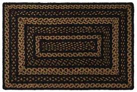 jute rug farmhouse braided jute rug rectangle 27 x 48 in allysons place