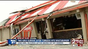 whataburger open on thanksgiving two girls survive after clinging to each other while tornado