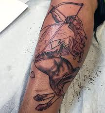 sagittarius arrow tattoo designs for men pictures to pin on