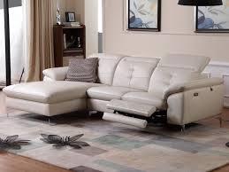 canapé d angle cuir de buffle canapé d angle relax électrique cuir avec têtières lismore