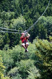 Treetop Canopy Tours by Adventurous Autumn In New Hampshire U0027s White Mountains Motorhome