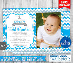 Template For Christening Invitation Card Boy Christening Invitation 2 By Templatemansion On Deviantart