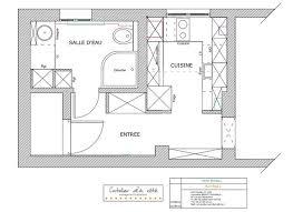 cuisine fonctionnelle plan petites cuisines de 4 m2 plans d aménagement côté maison