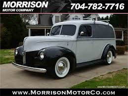 Classic Ford Truck 1940 - 1940 ford panel truck for sale classiccars com cc 975981