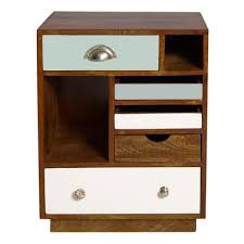 White Bedroom Furniture With Brown Top Bedroom Furniture White Stained Wooden Single Drawer Bedside