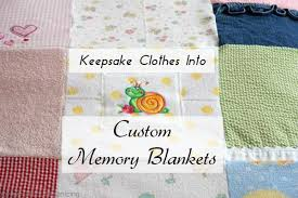 keepsake blankets keepsake clothes into custom memory blankets heartwork