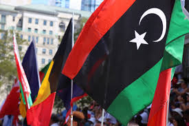 Flag Of Libya Muslim Veterans Lead Nyc Parade Of Immigrants Celebrating Their